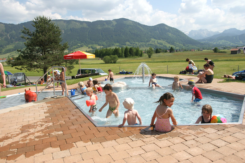 Kinderbecken Freibad Trauchgau